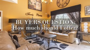 Buyer's Question: how much offer